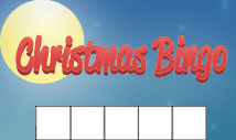 christmas day blank bingo card template-Jolly
