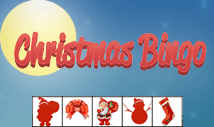 christmas day bingo card template with pictures -Jolly