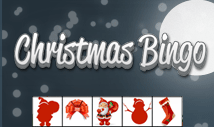 christmas night bingo card template with pictures -Jolly