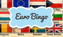 european union bingo card template with pictures