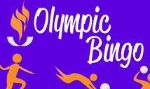 olympic sports bingo card template with pictures